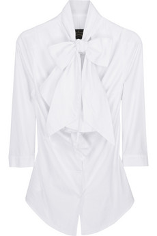 Vivienne Westwood AnglomaniaJabot bow blouse