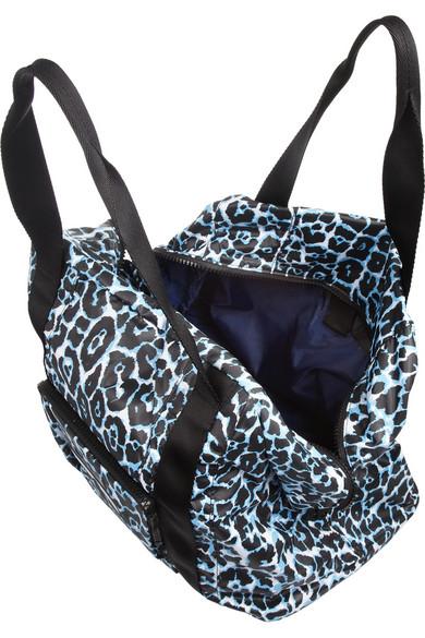 adidas by Stella McCartney. Leopard-print taffeta bag.  75. Zoom In cfff45b13db0c