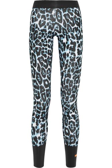 c4e418e900c9 adidas by Stella McCartney | Leopard-print stretch-jersey leggings ...