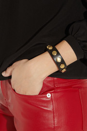 Saint Laurent Studded leather bracelet