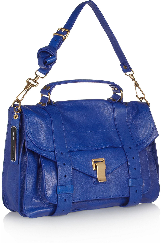 Proenza Schouler The PS1 medium leather satchel
