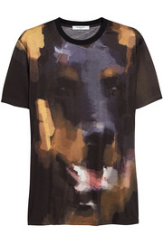 Givenchy Dobermann print T-shirt