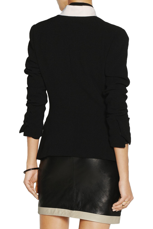 By Malene Birger Taifas stretch-crepe blazer