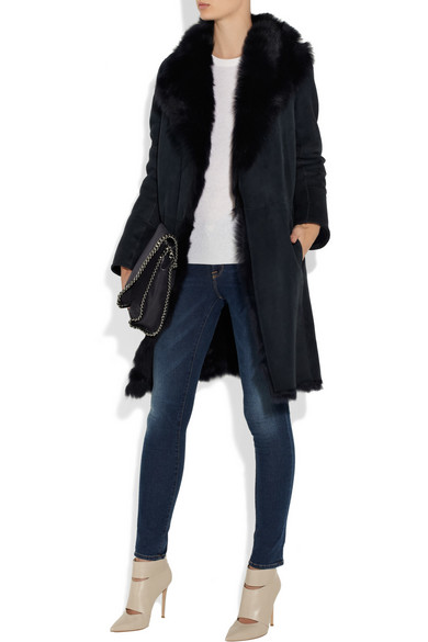 Joseph Shearling Coat
