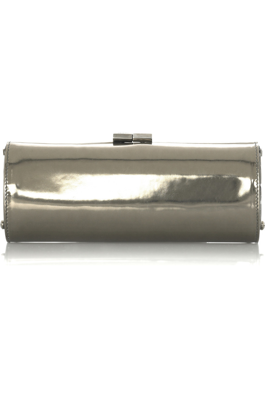 Jimmy Choo Tube mirror clutch  | NET-A-PORTER.COM from net-a-porter.com