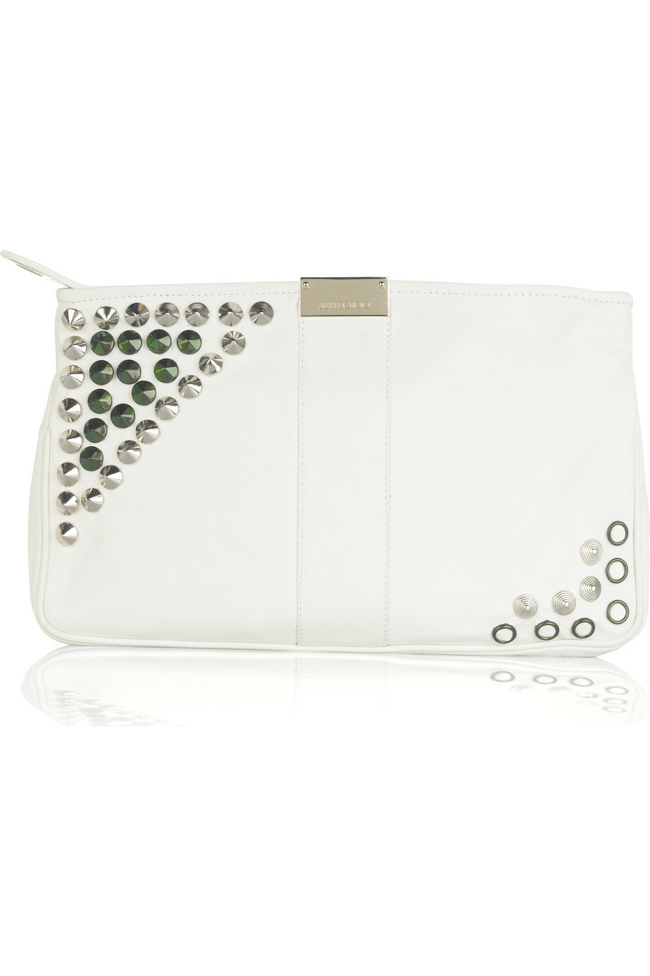 Jimmy Choo Zulu soft clutch  | NET-A-PORTER.COM from net-a-porter.com
