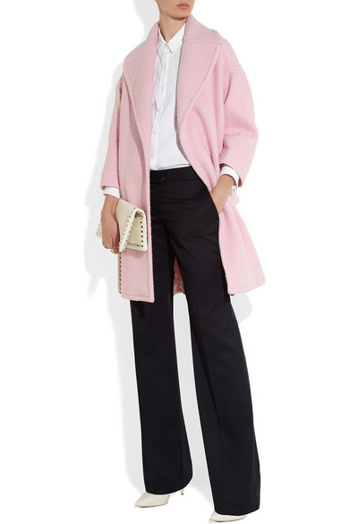 Rochas | Oversized wool-blend coat | NET-A-PORTER.COM