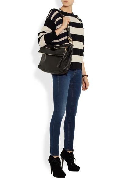 Chlo��   Vanessa leather shoulder bag   NET-A-PORTER.COM
