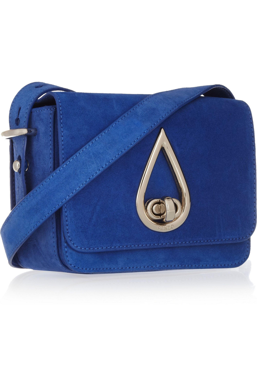 KENZO Suede shoulder bag