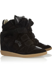 Isabel Marant The Bekett suede wedge sneakers