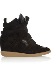 The Bekett suede wedge sneakers