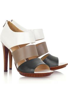 Bottega Veneta Tricolor strappy sandals