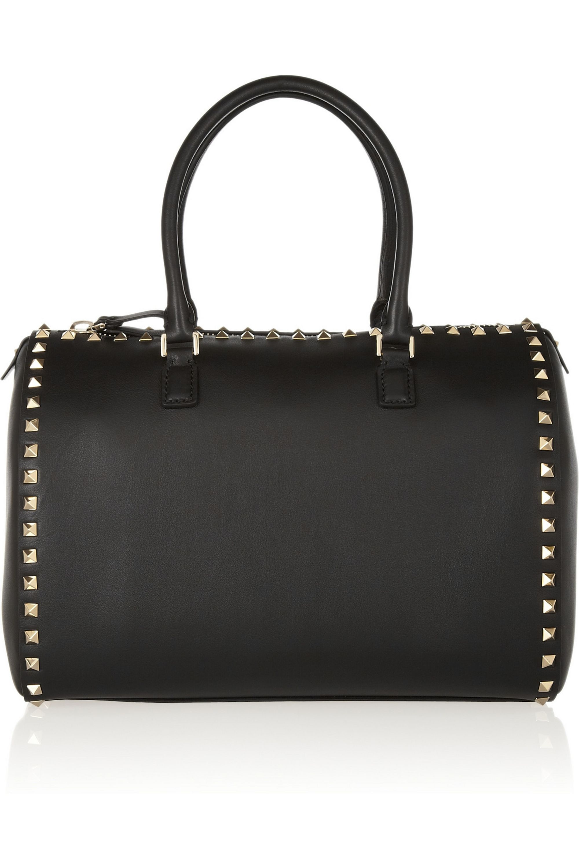 Valentino The Rockstud leather duffle bag