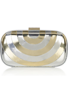 Anya Hindmarch Disco box clutch  | NET-A-PORTER.COM from net-a-porter.com