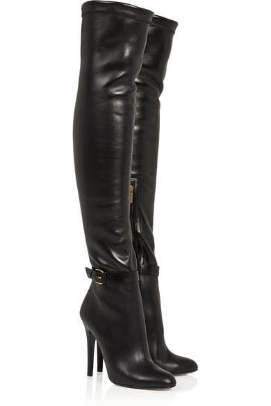 Jimmy Choo | Tamba stretch-leather over-the-knee boots | NET-A ...