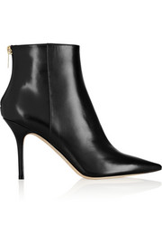 Jimmy Choo Amore polished-leather ankle boots