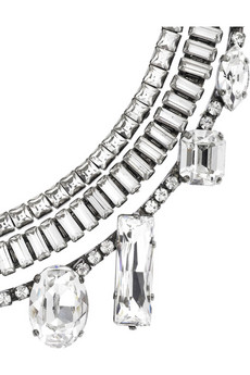 Erickson BeamonIcon crystal necklace