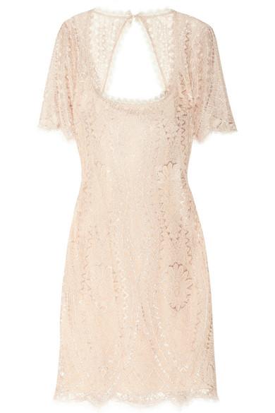 Sale alerts for Open-back lace dress Emilio Pucci - Covvet