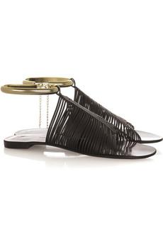 Giuseppe Zanotti Woven leather sandals