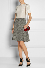 Christian Louboutin Sweet Charity Mini embellished velvet shoulder bag