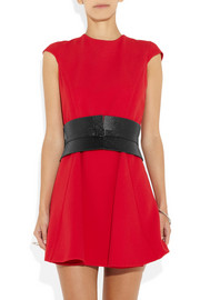 Alaïa Textured-leather waist belt