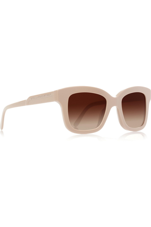 Stella McCartney Square-frame acetate sunglasses