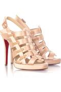 Christian Louboutin Paquita 120 satin gladiator sandals