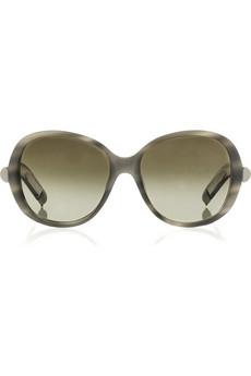 ChloéSaskia rounded oversized sunglasses