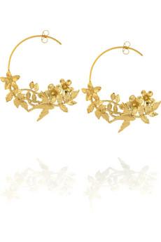 Alex MonroeCalabria hoop earrings