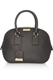 Burberry Shoes & Accessories Small textured-leather tote