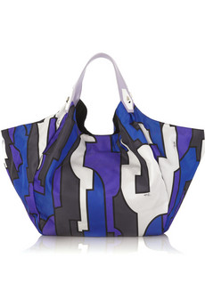 Emilio Pucci Cancello print tote $230 from Net-a-Porter featured on Shopalicious.com