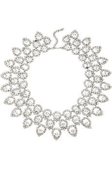 Kenneth Jay LaneSwarovski teardrop necklace
