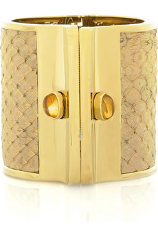 Kara by Kara Ross Large anaconda cuff