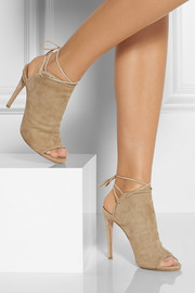 Aquazzura Mayfair suede sandals