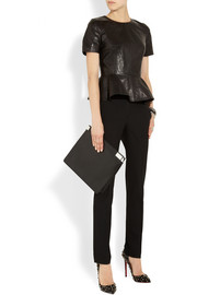 Michael Kors Samantha wool-blend slim-leg pants