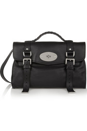 The Alexa leather satchel