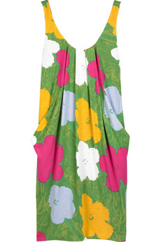 Diane von Furstenberg Warhol flower print dress