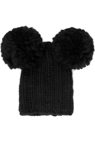 Eugenia Kim. Mimi chunky-knit wool pompom beanie 00fc7aef810