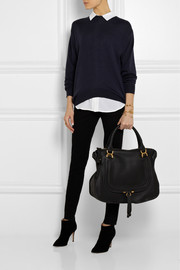 Chloé The Marcie large textured-leather tote
