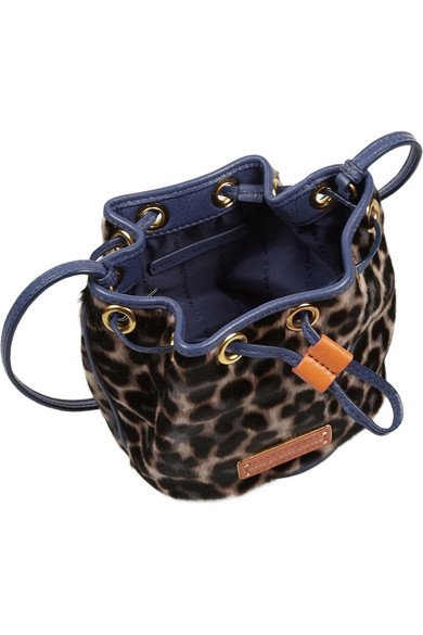 c1ce91d145b5 Marc by Marc Jacobs. Too Hot To Handle leopard-print calf hair bag.  125.  Zoom In