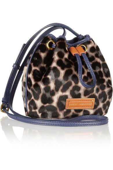 713e4bab9365 Marc by Marc Jacobs. Too Hot To Handle leopard-print calf hair bag