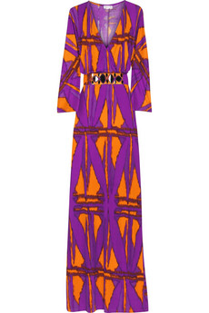 Allegra Hicks Avalong silk jersey kaftan