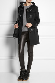 Burberry Brit Wool-felt duffle coat