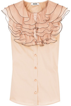 Moschino Cheap & Chic Tiered ruffle top