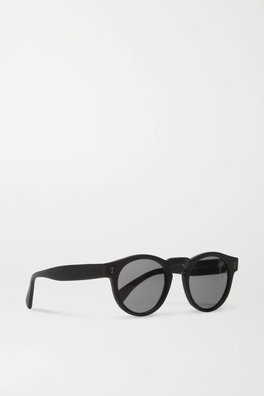 Illesteva Leonard round-frame acetate sunglasses