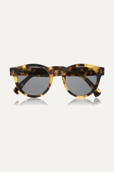 1b02f330c654 Illesteva | Leonard round-frame acetate sunglasses | NET-A-PORTER.COM