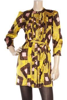 T-BagsSilk jersey dress