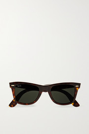 Ray-Ban The Wayfarer acetate sunglasses