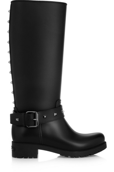 dd2da2bd8 Studded rubber Wellington boots