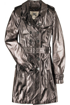 Burberry Handley leather trench